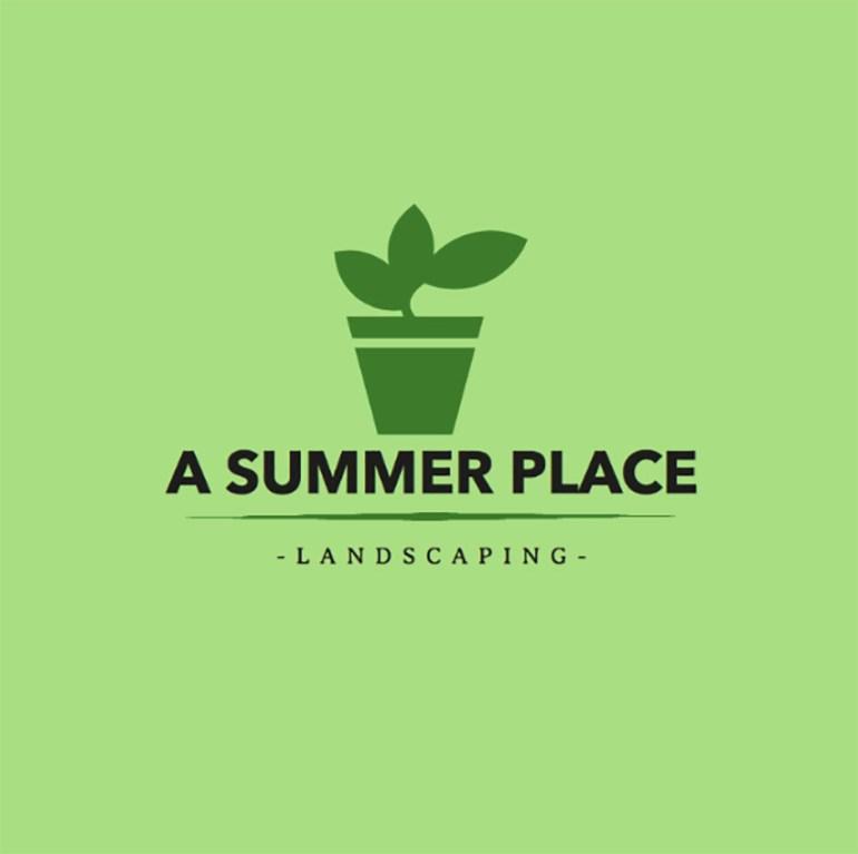Summer Landscaping Company Logo Maker