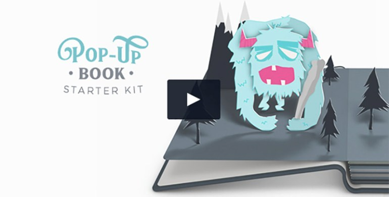 Pop-Up Book Starter Kit