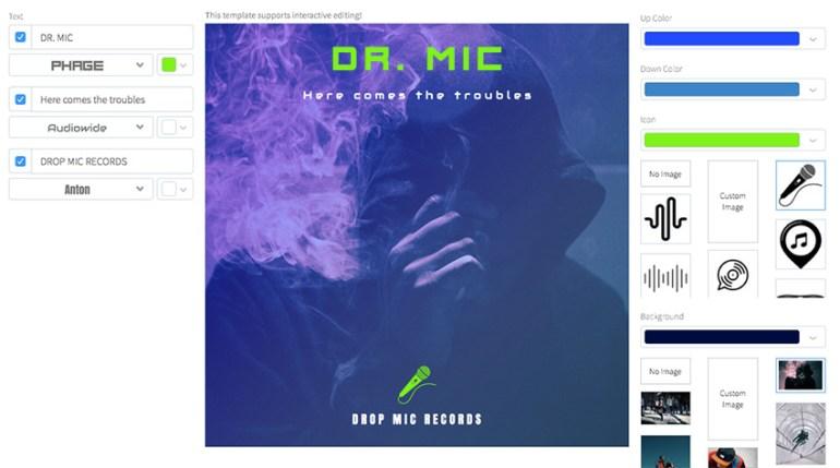 Chill Rap Album Cover Design Template