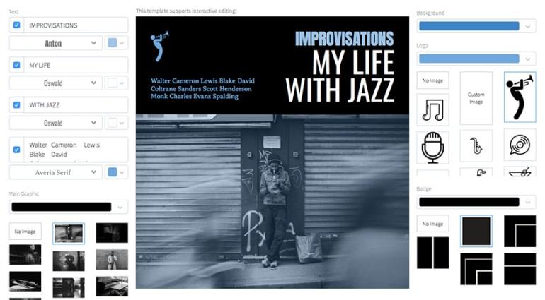 Jazz Album Cover Maker
