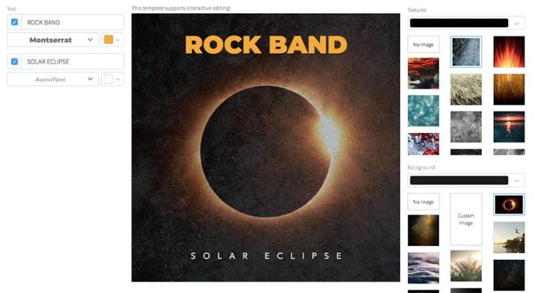 Rockstar Album Cover Maker