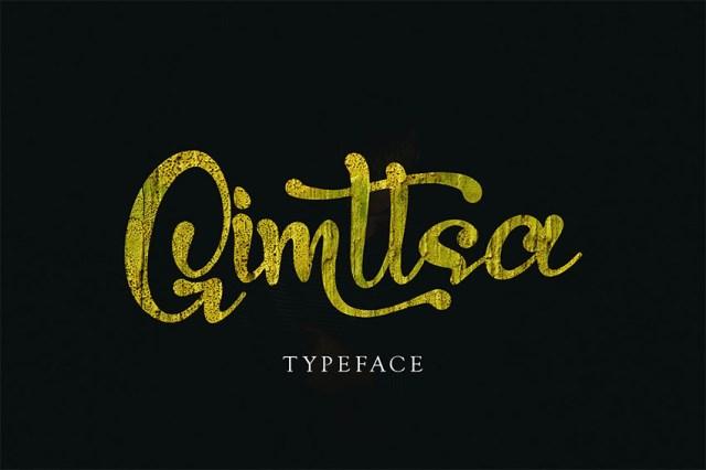 Gimstta - Phông chữ Swash tốt nhất