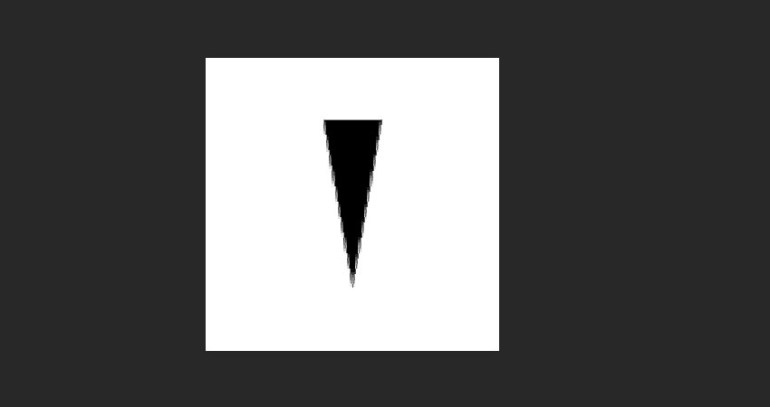 Create a Narrow Triangle