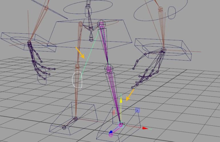 Pole vector constraint