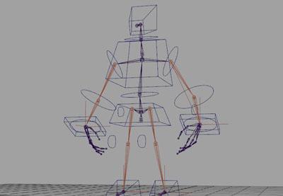 Creating a Magnum Mecha Character in Maya: Part 9