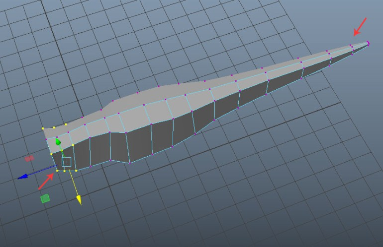 This is the mirrored symmetry mesh