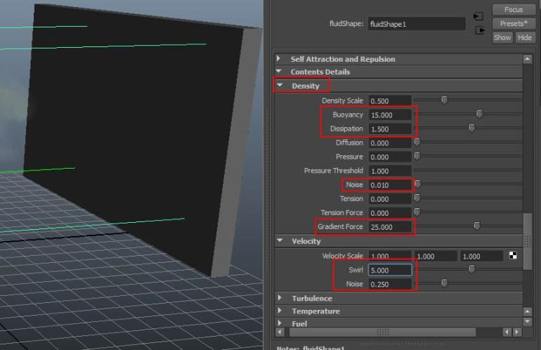 fluidShape1  Content Details  Density