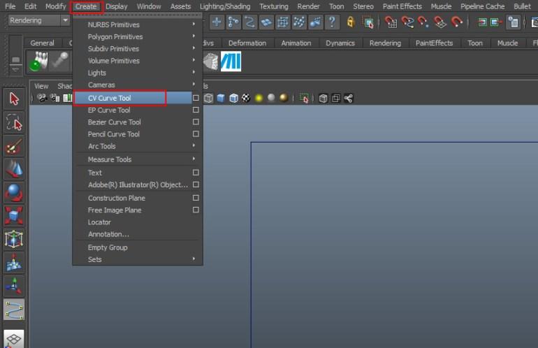 Create  CV Curve Tool