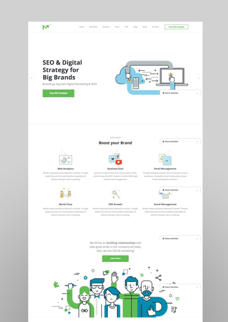 Marketing Pro - SEO WordPress Theme for SEO Agency