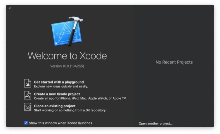 Figure 3 Open Xcode