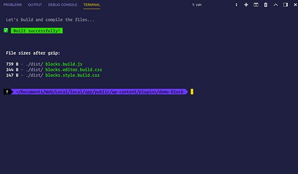 npm run build for cgb toolkit