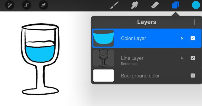 Reference Layer Example