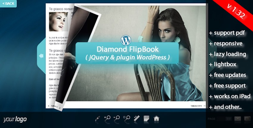 Flipbook plugin
