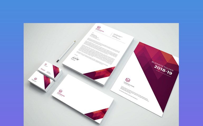Brand Identity Template - One of the best branding materials that is trending in 2018