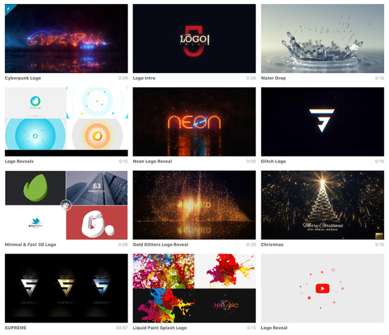 Best After Effects Logo Animations