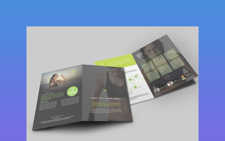 Brochure  One of the Indesign brochure templates that is trending in 2018