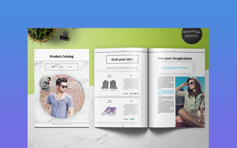 Product 4P Brochure InDesign