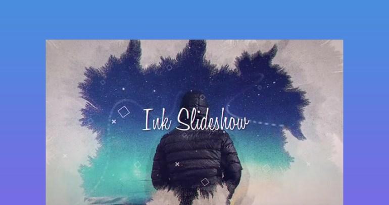 Ink - Cool Slideshow After Effect