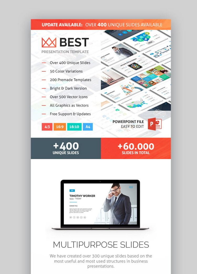 Graphic Presentation Theme PPT PowerPoint Company