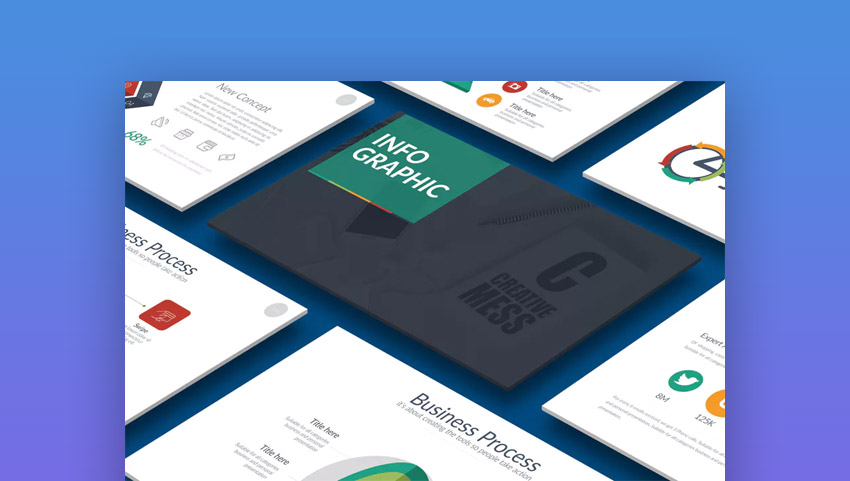 30 best infographic powerpoint