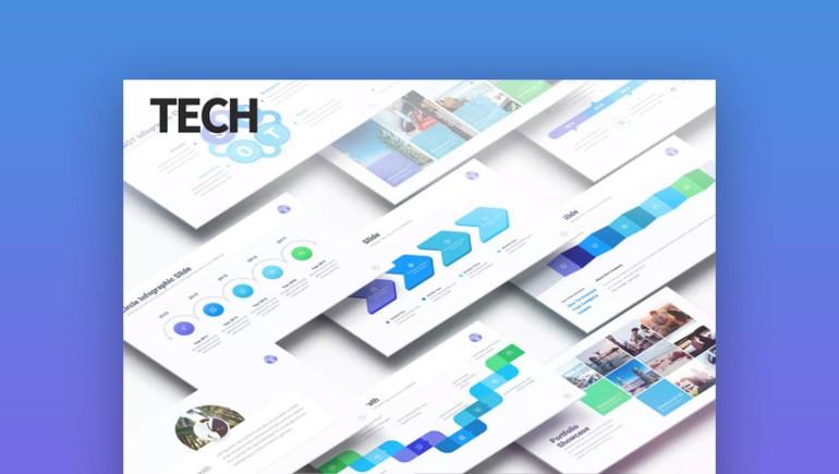 Tech Data Infographic PowerPoint Presentation Deck