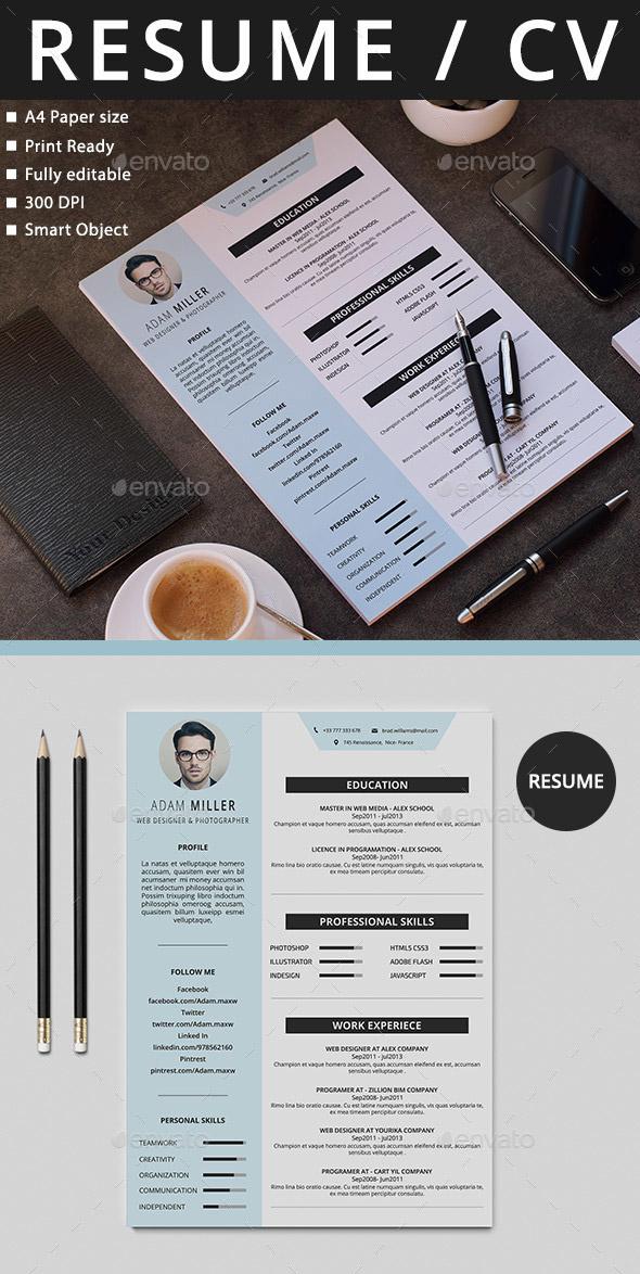 resume order for