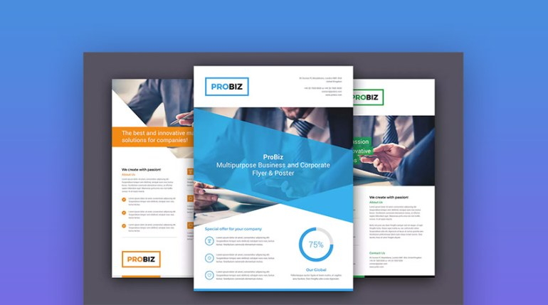 20 business flyer templates with creative layout designs www 101 pro business flyer design template trending now cheaphphosting Image collections