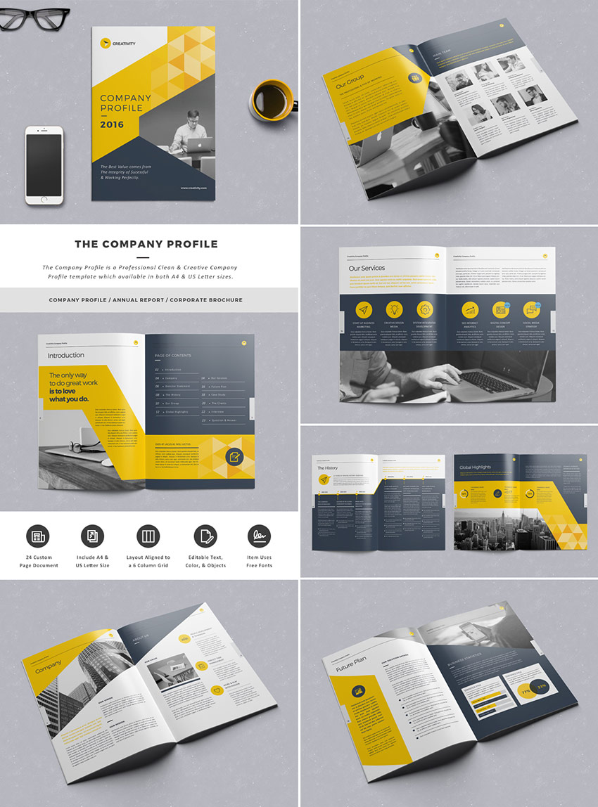 20 Best Indesign Brochure Templates For Creative Business