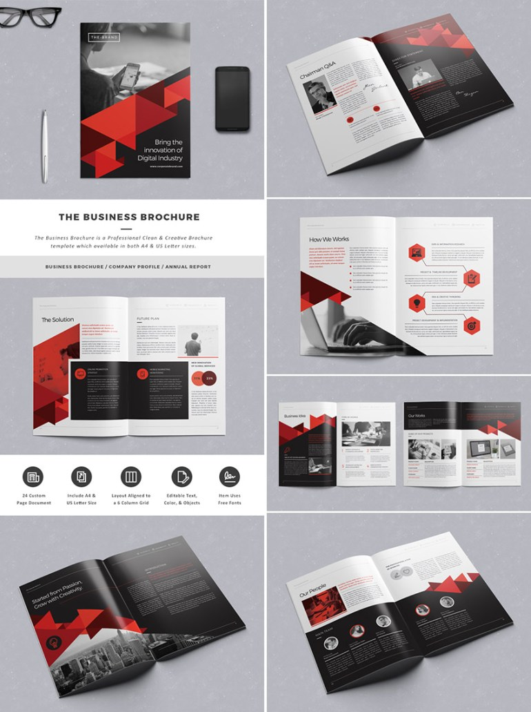 The Business Brochure Template File