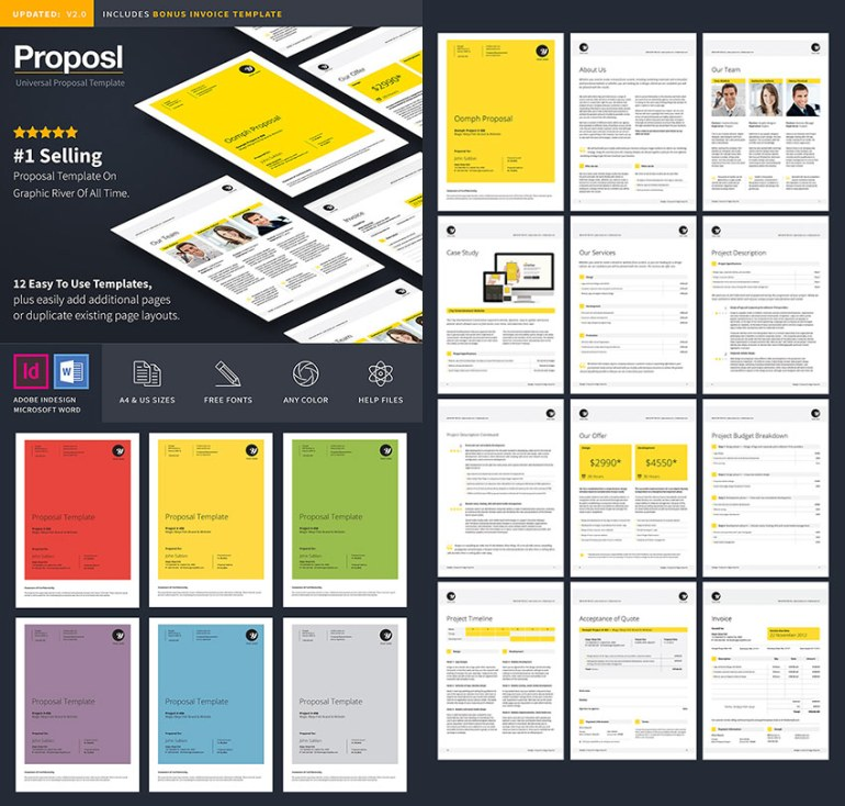 15 best business proposal templates for new client projects www 101