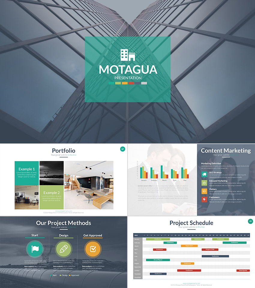 18 Professional Powerpoint Templates For Better Business Presentations