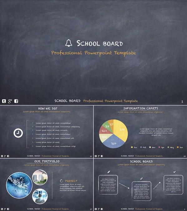 Education Powerpoint Templates - Great School