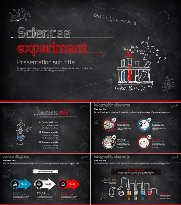 Science Education PowerPoint Template