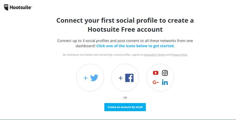 Hootsuite online social media management software