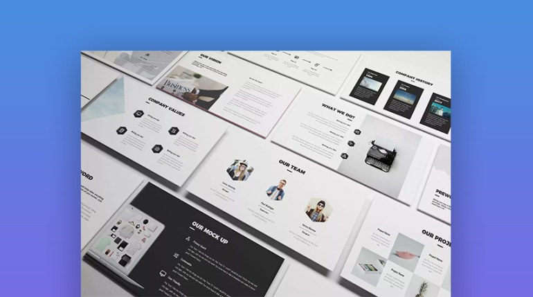 Creative Google Slides Presentation Template Design