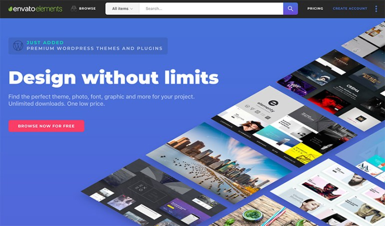 Envato Elements Unlimited Design