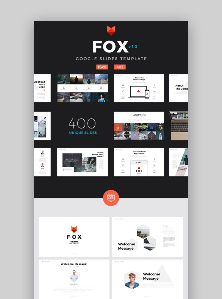 Fox Best 2017 Google Slides Cool Presentation Template