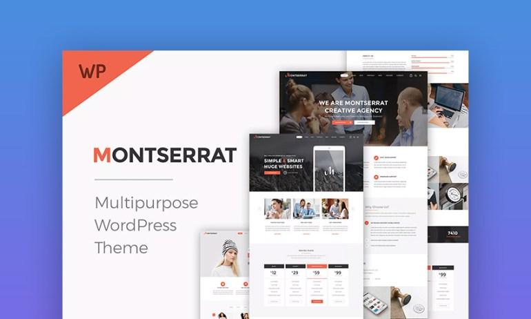 Montserrat Multipurpose Modern WordPress Theme