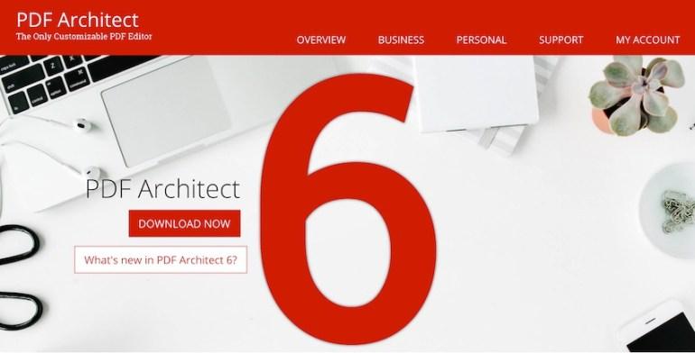 PDF Architect 6 PDF Editor