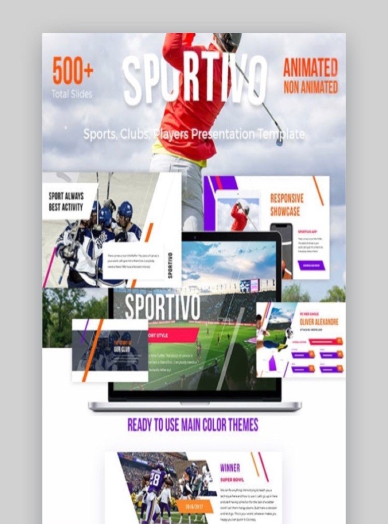 Sportivo Sport PowerPoint Template