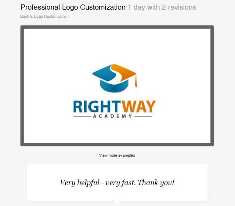 Professional Logo Customization