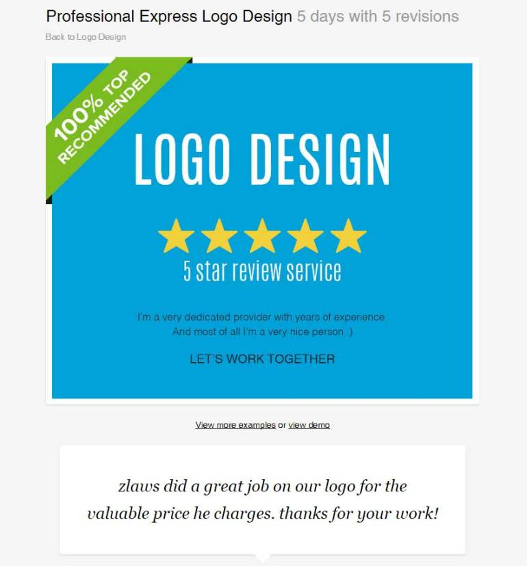 Professional Express Logo Design by zlaws