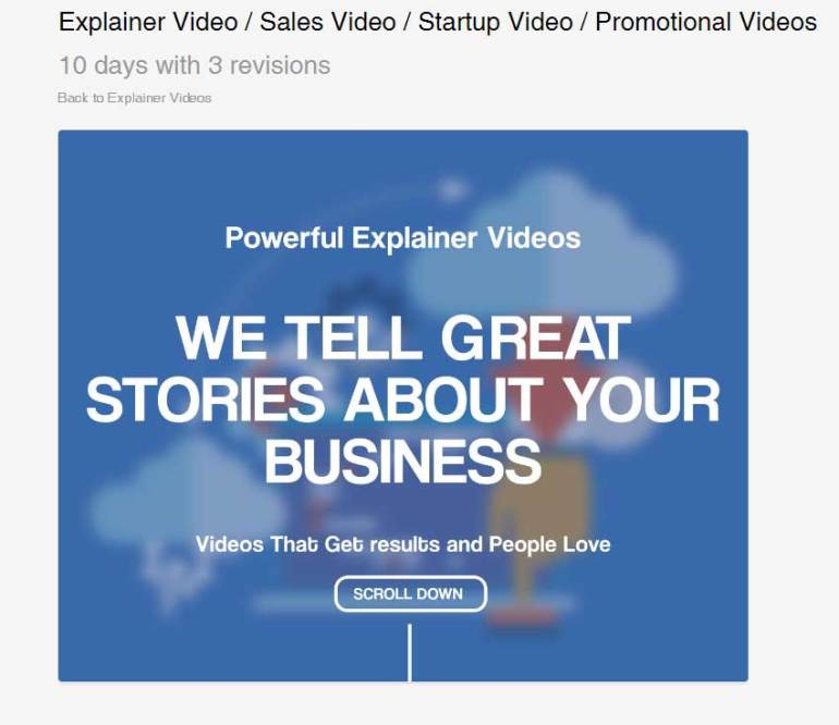 Explainer Video  Sales Video  Startup Video  Promotional Videos by JBMotion