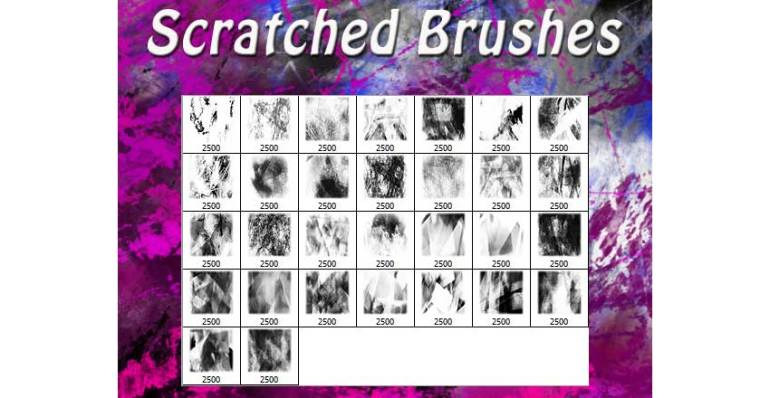 Scratched Brushes