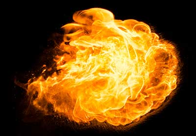 How to Create a Fireball Brush From Scratch in Adobe Photoshop