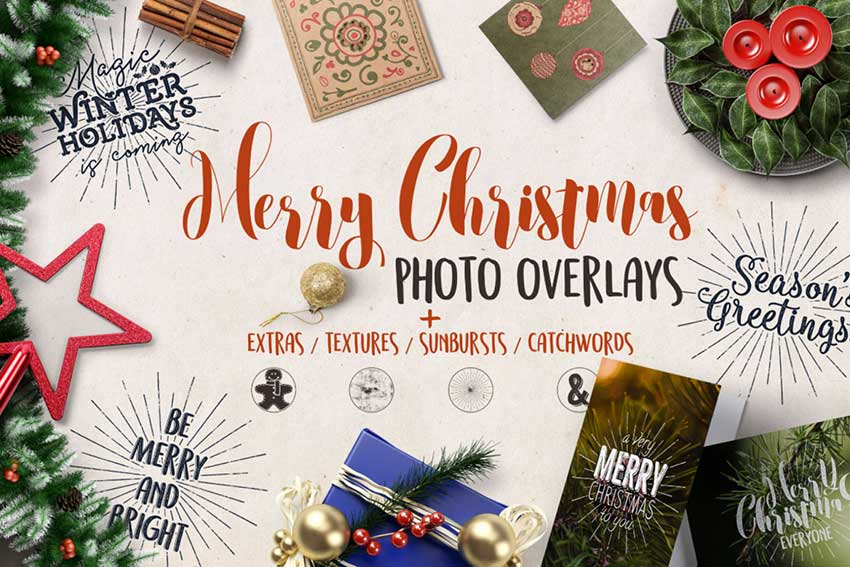 67 Awesome Festive Photoshop Christmas Filters Amp Add Ons