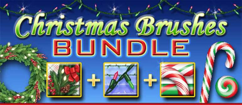 Christmas Brushes Bundle