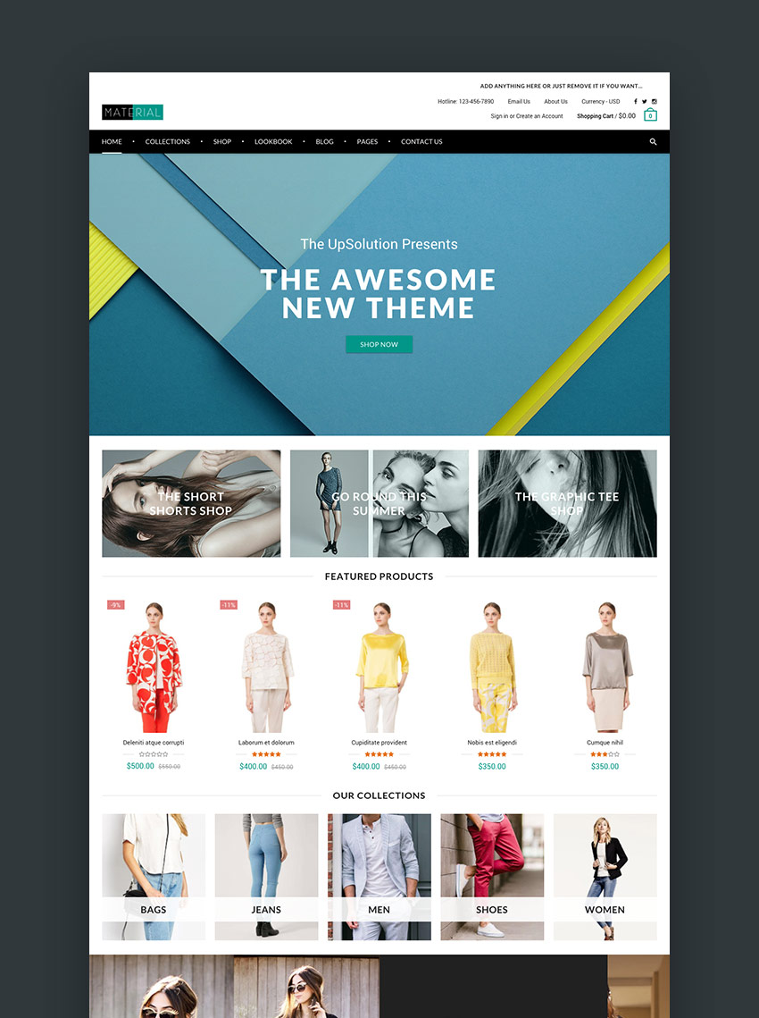 20 Best Shopify Themes With Beautiful eCommerce Designs