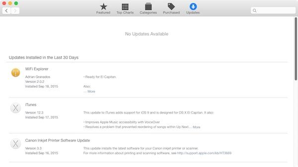 Preparing a Mac for Upgrade to OS X 10.11 El Capitan