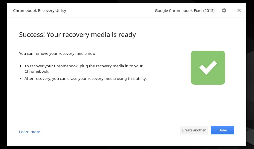 How to Create a Chromebook Recovery USB Drive Using Chrome